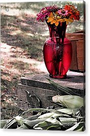 Simply Enchanting Acrylic Print by Janice Drew