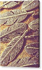 Simply Metallic Acrylic Print