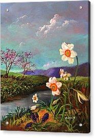 Simply Spring Acrylic Print
