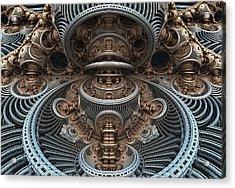 Simply Symmetrical Acrylic Print