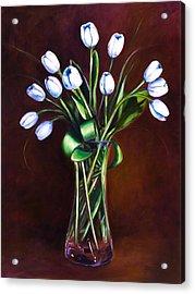 Simply Tulips Acrylic Print