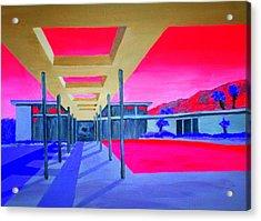 Sinatra House Four Acrylic Print by Randall Weidner