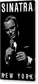 Sinatra W Sig Acrylic Print