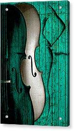 Sinful Violin Acrylic Print
