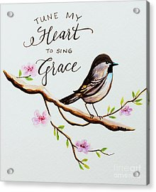 Sing Grace Acrylic Print