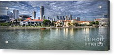 Singapore By Day Acrylic Print