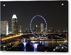 Singapore Eye Acrylic Print
