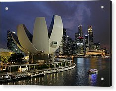 Singapore Harbor Acrylic Print