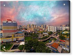 Singapore Rochor Commercial And Residential Mixed Area Acrylic Print by David Gn