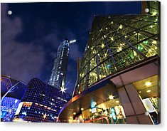 Acrylic Print featuring the photograph Singapore Shopping Paradise by Ng Hock How