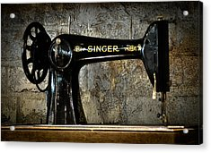 Singer Acrylic Print