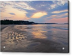 Singing Beach Sandy Beach Manchester By The Sea Ma Sunrise Acrylic Print