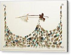 Singing Bird 21 Acrylic Print by Chris Maynard