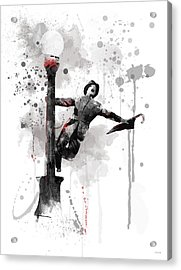 Singing In The Rain Acrylic Print