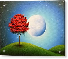 Singing The Night Acrylic Print by Rachel Bingaman