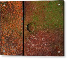 Acrylic Print featuring the photograph Singular ...raw Steel by Tom Druin