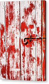 Sinister Country House Details Acrylic Print