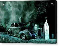 Acrylic Print featuring the photograph Sinister by Steven Agius