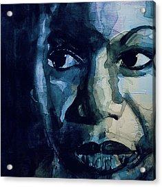 Sinnerman - Nina Simone Acrylic Print