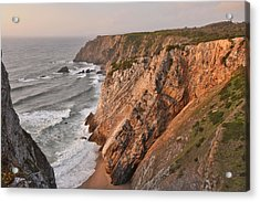 Acrylic Print featuring the photograph Sintra Portugal Coast by Marek Stepan