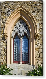 Acrylic Print featuring the photograph Sintra Window by Carlos Caetano