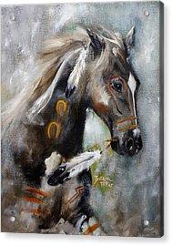 Sioux War Pony Acrylic Print