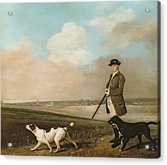 Sir John Nelthorpe Acrylic Print by George Stubbs