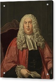 Sir William Blackstone 1723-1780 Acrylic Print by Everett