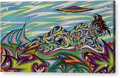 Sirene De Venus Acrylic Print