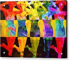 Sistas Acrylic Print