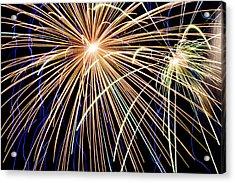 Sister Bay Fireworks Acrylic Print