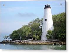 Sister Island Lighthouse Acrylic Print