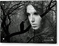 Sister Raven Acrylic Print