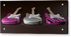 Sister What Have You Done To My Guitars Acrylic Print