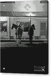 Sisterdale Saturday Night Acrylic Print