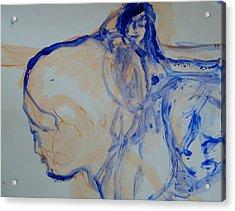 Sisterhood Acrylic Print by Judith Redman