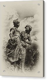 Sisters Acrylic Print by Bill Cannon