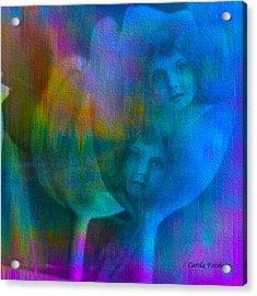 Sisters Acrylic Print by Carola Ann-Margret Forsberg