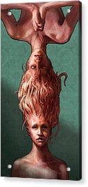 Sisters Acrylic Print by Ethan Harris