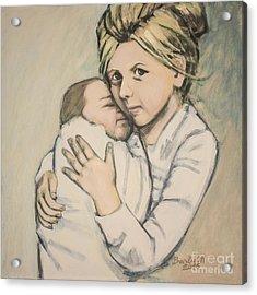 Sisters Acrylic Print by Olimpia - Hinamatsuri Barbu
