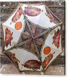 Sistine Chapel Umbrella Acrylic Print