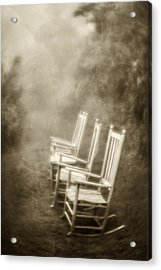 Sit A Spell-sepia Acrylic Print