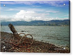 Sit Back And Enjoy Acrylic Print