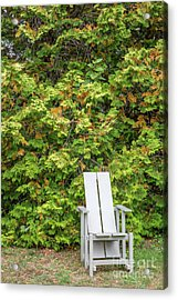 Sit For A Spell Acrylic Print by A New Focus Photography