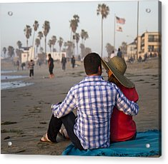 Acrylic Print featuring the photograph Sit With Me Forever by Nathan Rupert