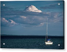 Acrylic Print featuring the photograph Sittin By The Bay by Onyonet  Photo Studios