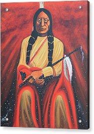 Sitting Bull - Siuox Shaman Acrylic Print