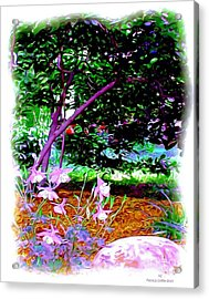 Acrylic Print featuring the painting Sitting In The Shade by Patricia Griffin Brett