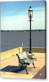 Sitting On The Delaware Acrylic Print