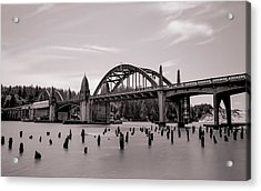 Siuslaw River Bridge Acrylic Print